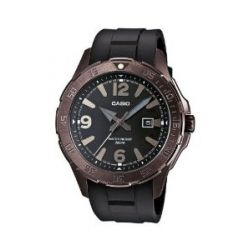 Casio Herren-Armbanduhr XL Casio Collection Analog Quarz Resin MTD-1073-1A1VEF