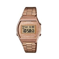 Casio Unisex-Armbanduhr Casio Collection Digital Quarz Edelstahl B640WC-5AEF