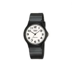 Casio Herren-Armbanduhr Casio MQ Analog Kunststoff schwarz MQ-24-7B2LEF