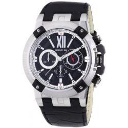 Cerruti Herren-Armbanduhr XL Analog Quarz Leder CRA060A222H