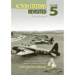 Action Stations Revisited, Wales and the Midlands No. 5 by Michael J.F. Bowyer, 9780859791113.