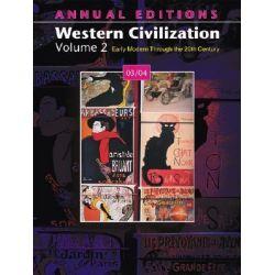 A/E Western Civilization V2, Western Civilization, Volume 2 by Lembright, 9780072548273.