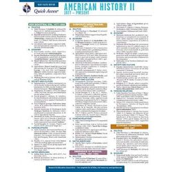 American History 2 - Rea's Quick Access Reference Chart by The Staff of Rea, 9780738607214.