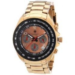 Constantin Durmont Herren-Armbanduhr XL Crossfire Chronograph Quarz Edelstahl beschichtet CD-CROS-QZ-RG-RGRG-RG