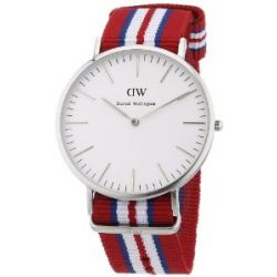 Daniel Wellington Herren-Armbanduhr XL Exeter Analog Quarz Nylon 0212DW
