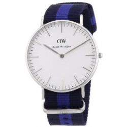Daniel Wellington Damen-Armbanduhr Glasgow Analog Quarz Nylon 0603DW
