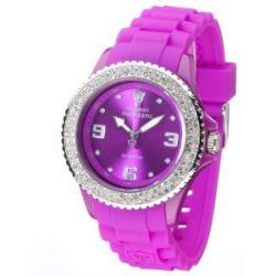 Detomaso Damen-Armbanduhr COLORATO DT3008-H Ladies Analog Quarz Silikon DT3008-H