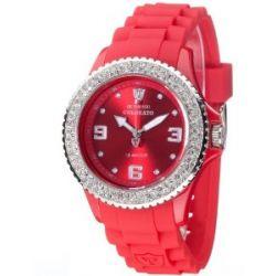 Detomaso Damen-Armbanduhr COLORATO DT3008-D Ladies Analog Quarz Silikon DT3008-D