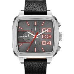 Diesel DZ4304 Mens Square Franchise Chrono Black Watch