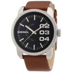 Diesel Herren-Armbanduhr XL Franchise-46 Analog Quarz Leder DZ1513