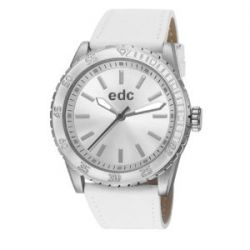 edc by Esprit Damen-Armbanduhr champion starlet Analog Quarz Leder EE101272002
