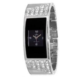 Elite Damen-Armbanduhr E52604-203 Analog Quarz Silber E52604-203