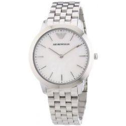 Emporio Armani Damen-Armbanduhr XS Analog Quarz Edelstahl AR1750