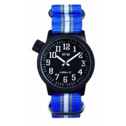 ene-watch Herren-Armbanduhr Analog, Model: Nato 109 / 700019201, NATO-Nylon Armband