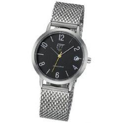 ETT Eco Tech Time Damen-Armbanduhr XS Hybrid Drive Analog Automatik Edelstahl ELS-40158-21M