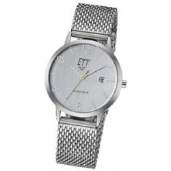 ETT Eco Tech Time Damen-Armbanduhr XS Hybrid Drive Analog Automatik Edelstahl ELS-40123-41M