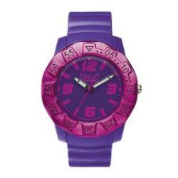 Everlast Unisex Armbanduhr 33-218 Analog Kunststoff violett EV-218-006