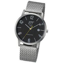 ETT Eco Tech Time Herren-Armbanduhr XL Hybrid Drive Analog Automatik Edelstahl EGS-40156-21M
