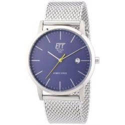 ETT Eco Tech Time Herren-Armbanduhr XL Hybrid Drive Analog Automatik Edelstahl EGS-40138-31M