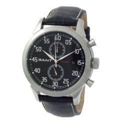 GANT Herren-Armbanduhr XL Analog Quarz Leder W10131