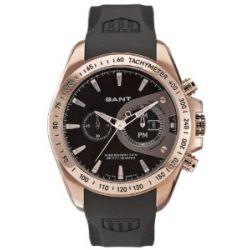 GANT Herren-Armbanduhr XL Analog Quarz Plastik W10385