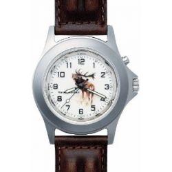 Greiner Uhren Jagduhr mit Hirsch Motiv Greiner 1205-TFL