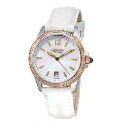 Golana Aura Pro Swiss Made Ladies Diamond Set Watch AU150-3