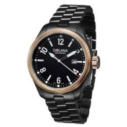 Golana Terra Pro Black Swiss Made All Terrain Men's Watch TE120-2