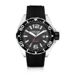 Golana Herren-Armbanduhr XL Advanced Aqua Analog Automatik Kautschuk ADQ100-2
