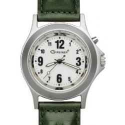 Greiner Jagdmotiv Armbanduhr 1205N mit Beleuchtung