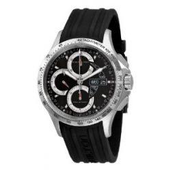Hamilton Herren H64616331 Khaki King Black Chronograph Zifferblatt