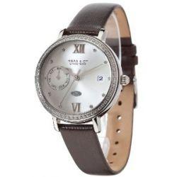 Haas & Cie Damen-Armbanduhr Analog Quarz Leder FPC432ZSA