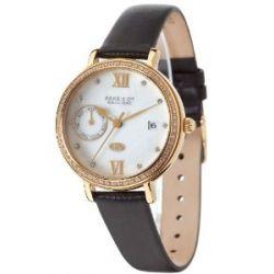 Haas & Cie Damen-Armbanduhr Analog Quarz Leder FPC432XFA