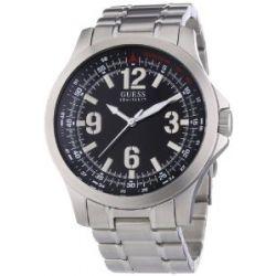 Guess Herren-Armbanduhr XL Analog Edelstahl W85106G1