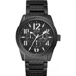 Guess Herren-Armbanduhr XL Analog Edelstahl W15073G1