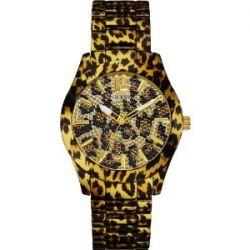 Guess Damen-Armbanduhr Analog Quarz Edelstahl W0001L2