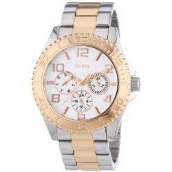Guess Damen-Armbanduhr Analog Quarz Edelstahl W0231L5