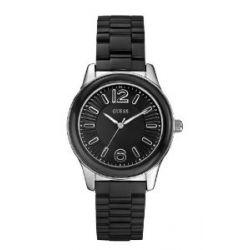 Guess Damen-Armbanduhr Analog Quarz Plastik W85105L2