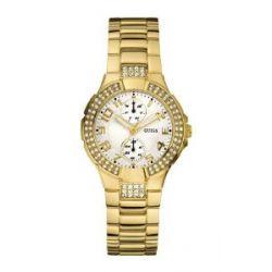 Guess Damen-Armbanduhr XS MINI PRISM Analog Quarz Edelstahl W15072L1