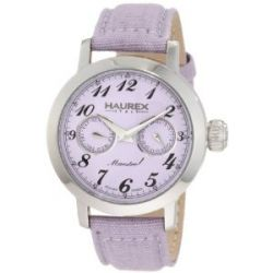 Haurex Italy Damen-Armbanduhr Maestro Rainbow Analog Textil 6A343DL1