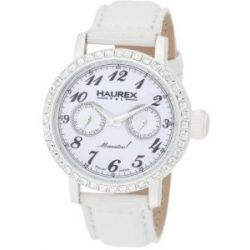 Haurex Italy Damen-Armbanduhr Maestro Rainbow Analog Textil 6W343DW1