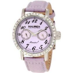 Haurex Italy Damen-Armbanduhr Maestro Rainbow Analog Textil 6S343DL1