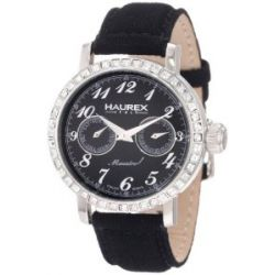 Haurex Italy Damen-Armbanduhr Maestro Rainbow Analog Textil 6S343DN1
