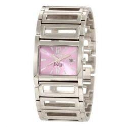 Haurex Italy Damen-Armbanduhr XS Breeze Analog Edelstahl XA344DL1