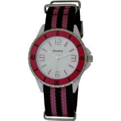 Henley Damen-Armbanduhr Henley Summer Nylon Strap Fashion Watch Analog nylon mehrfarbig H0883.5