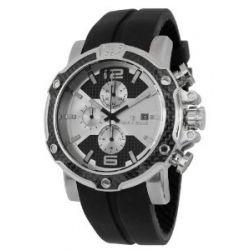 Herzog & Söhne Herren-Armbanduhr XL Analog Quarz Silikon HS201-112