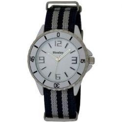 Henley Damen-Armbanduhr Henley Summer Nylon Strap Fashion Watch Analog nylon mehrfarbig H0883.6