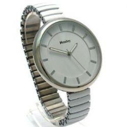 Henley H07180.4 Damen BIG Oversize-Uhr auf den Ausbau Armband Weiß