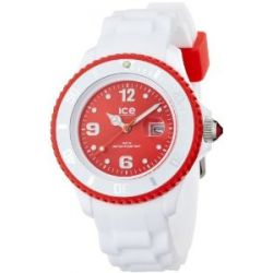 Ice-Watch Armbanduhr ice-White Small WeissY/Rot SI.WD.S.S.11