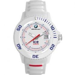 Ice-Watch BM.SI.WE.U.S.13 Sili White Unisex BMW Motorsport Edition Uhr Unisex Kautschuk Kunststoff 100m Analog Datum weiss